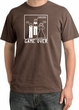 Game Over Ceremony Pigment Dyed Chestnut T-shirt - White Print