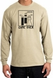 Game Over Marriage Ceremony Long Sleeve Sand Shirt - Black Print