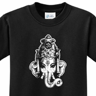 Ganesha Head Kids Yoga Shirts