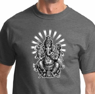 Ganesha Mens Yoga Shirts