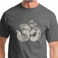 Ganesha OM Mens Yoga Shirts