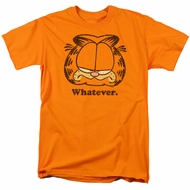 Garfield T-shirt Whatever Orange Tee Shirt