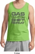 Gas Clutch Shift Repeat Grey Print Mens Tank Top