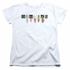 Genesis Womens Shirt New Logo White T-Shirt