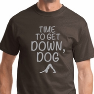 Get Down Dog Mens Yoga Shirts