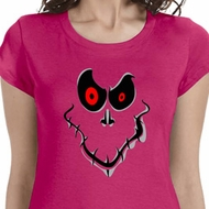 Ghost Face Ladies Halloween Shirts
