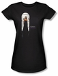 Ghost Whisperer Juniors Shirt Doorway Black T-Shirt