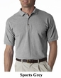 Gildan Polo Shirt Ultra Cotton Jersey Knit Golf Sports Shirt
