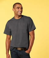 Gildan Shirt with Pocket Ultra Cotton Tee T-Shirt