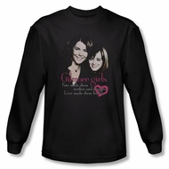Gilmore Girls Shirt Cast Long Sleeve Black Tee T-Shirt