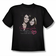Gilmore Girls Shirt Kids Cast Black T-Shirt