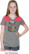 Girls Cat Tee Love Cat Football Shirt