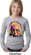 Girls Funny Shirt Albert Einstein Long Sleeve Tee T-Shirt