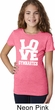 Girls Gymnastics Shirt Love Gymnastics Tee T-Shirt