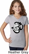 Kids Yoga Shirt Om Mashup V-Neck Tee T-Shirt