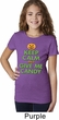 Girls Halloween Shirt Keep Calm and Give Me Candy Tee T-Shirt