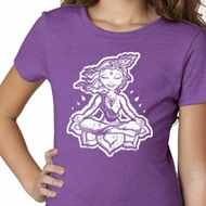 Girls Yoga Shirt Krishna Tee T-Shirt