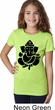 Girls Yoga Shirt Shadow Ganesha Tee T-Shirt