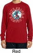 Give Peace A Chance Kids Dry Wicking Long Sleeve Shirt
