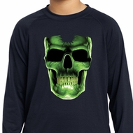 Glow Bones Kids Dry Wicking Long Sleeve Shirt