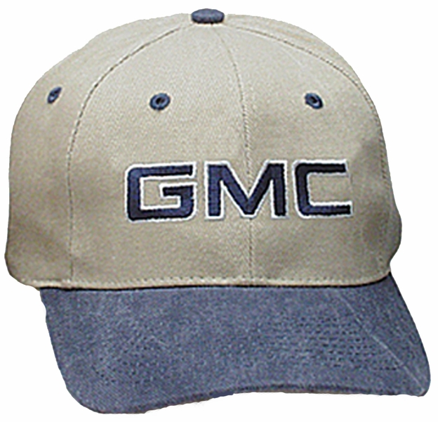 53acb548540 GMC Hat - General Motors Company Fine Embroidered Logo Cap - GMC Cap ...