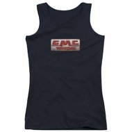 GMC Juniors Tank Top Beat Up 1959 Logo Black Tanktop