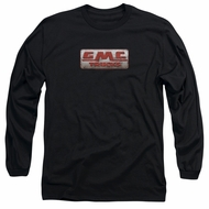 GMC Long Sleeve Shirt Beat Up 1959 Logo Black Tee T-Shirt