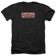 GMC Shirt Beat Up 1959 Logo Heather Black T-Shirt