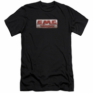 GMC Slim Fit Shirt Beat Up 1959 Logo Black T-Shirt