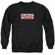 GMC Sweatshirt Beat Up 1959 Logo Adult Black Sweat Shirt