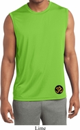 Gold AUM Patch Bottom Print Mens Yoga Shirts
