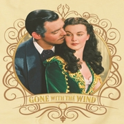 Gone With The Wind Gone Scrolling Shirts