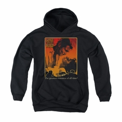 Gone With The Wind Hoodie Sweatshirt Greatest Romance Black Adult Hoody Sweat Shirt