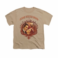 Gone With The Wind Shirt Kids Classic Romance Sand Youth Tee T-Shirt