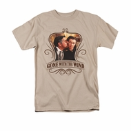 Gone With The Wind Shirt Kissed Adult Sand Tee T-Shirt