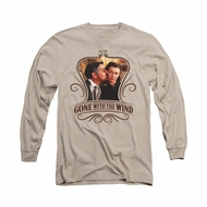 Gone With The Wind Shirt Kissed Long Sleeve Sand Tee T-Shirt
