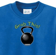 Grab This Kettle Bell Kids Yoga Shirts
