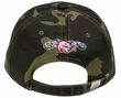 Graffiti Style 3D Hat - Lackpard Cap - Green Camo