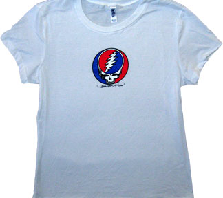 Grateful Dead Juniors T Shirt Steal Your Face Fitted Tee