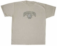 Grateful Dead Shirt Rose Solid Adult Sand Tee T-Shirt