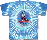 Grateful Dead Shirt Rythym Drums Tie Dye Tee T-Shirt