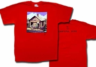 Grateful Dead Shirt Terrapin Station Red Tee T-Shirt