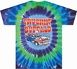 Grateful Dead Shirt Tie Dye Truckin to Buffalo Tee T-Shirt