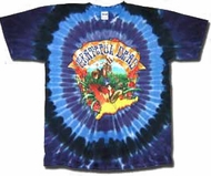 Grateful Dead Shirt Walking Coast to Coast Adult Tee T-Shirt