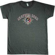 Grateful Dead T-Shirt Flames Adult Tee Shirt