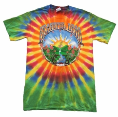 Grateful Dead Waterfall Shirt - Mens Tie Dye Tee
