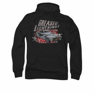 Grease Hoodie Sweatshirt Greased Lightening Black Adult Hoody Sweat Shirt