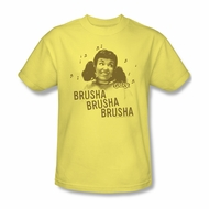 Grease Shirt Brusha Brusha Adult Banana Tee T-Shirt