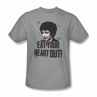 Grease Shirt Eat Your Heart Out Adult Silver Tee T-Shirt