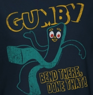 Gumby Bend There Shirts